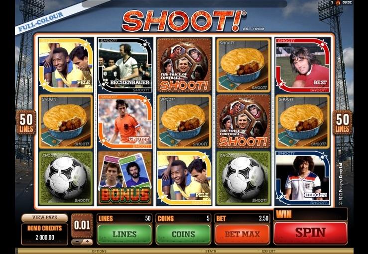 football_shoot