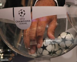Champions League draw balls