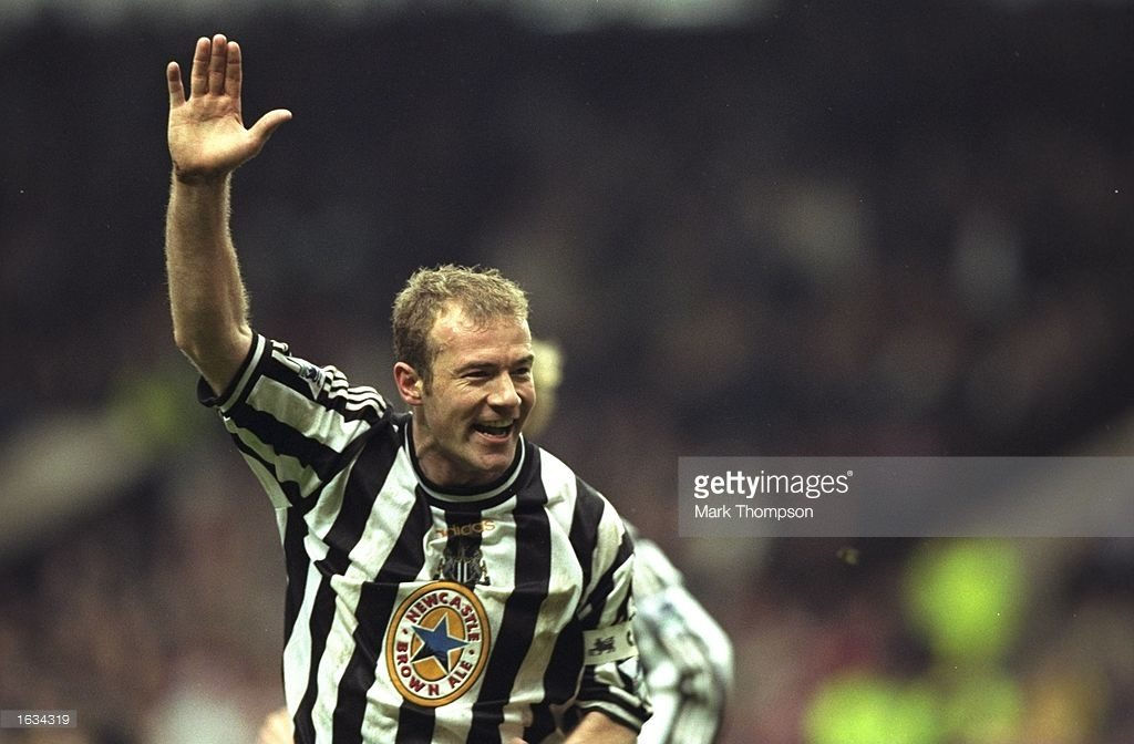 Alan Shearer of Newcastle