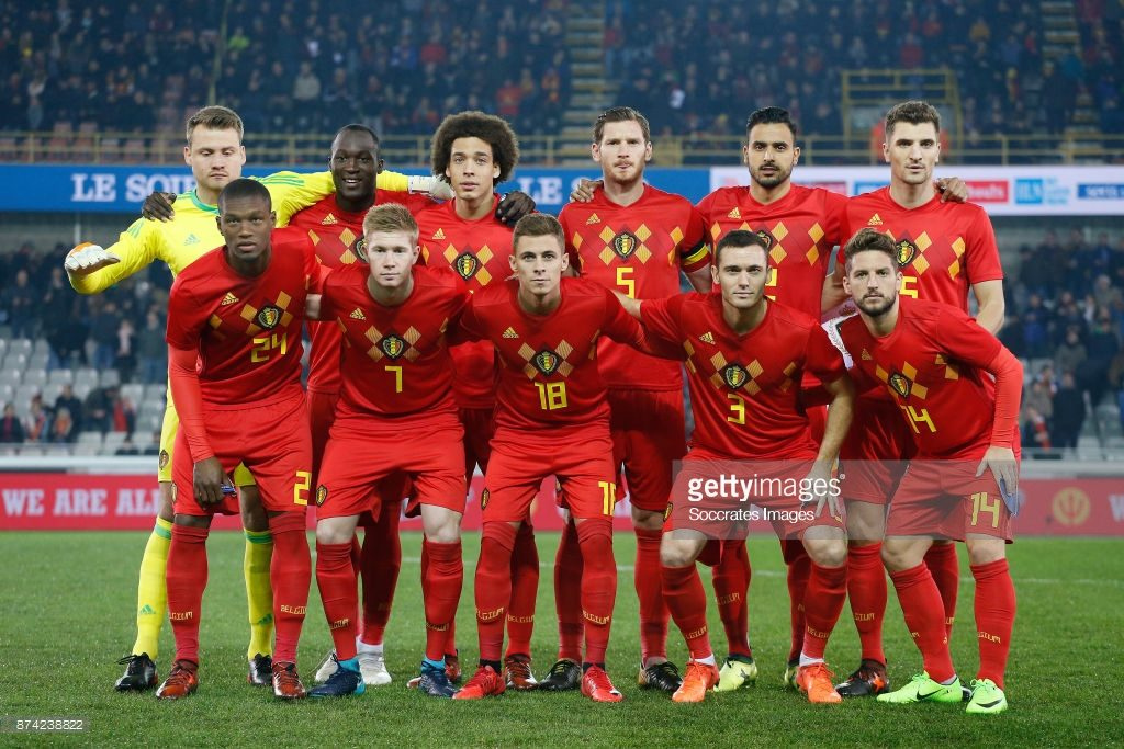 Belgium football national team, World Cup 2018 training