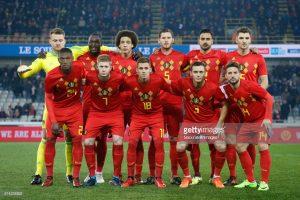 Belgium football national team, World Cup 2018 training