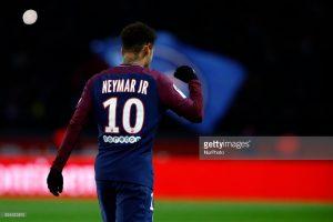 Neymar Jr of PSG
