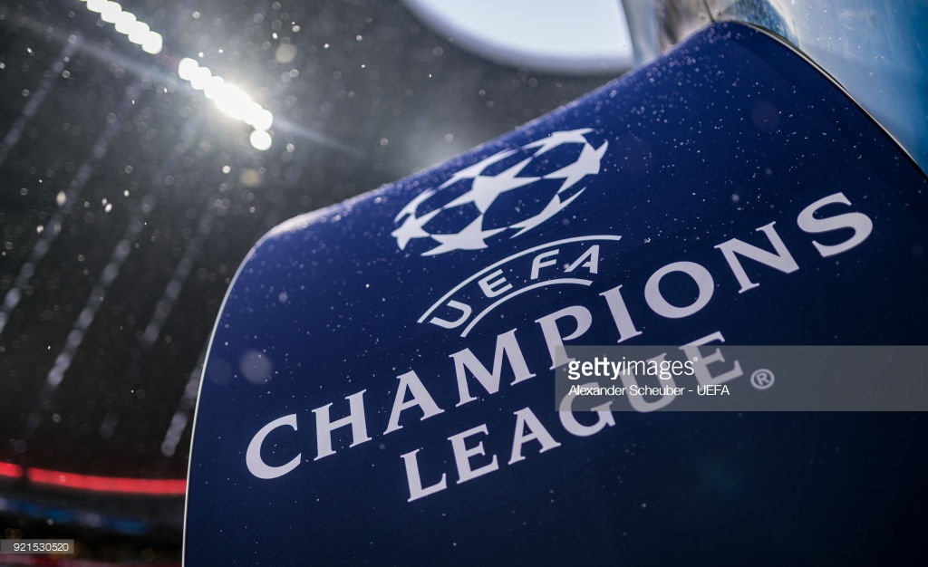 The UEFA Champions League logo
