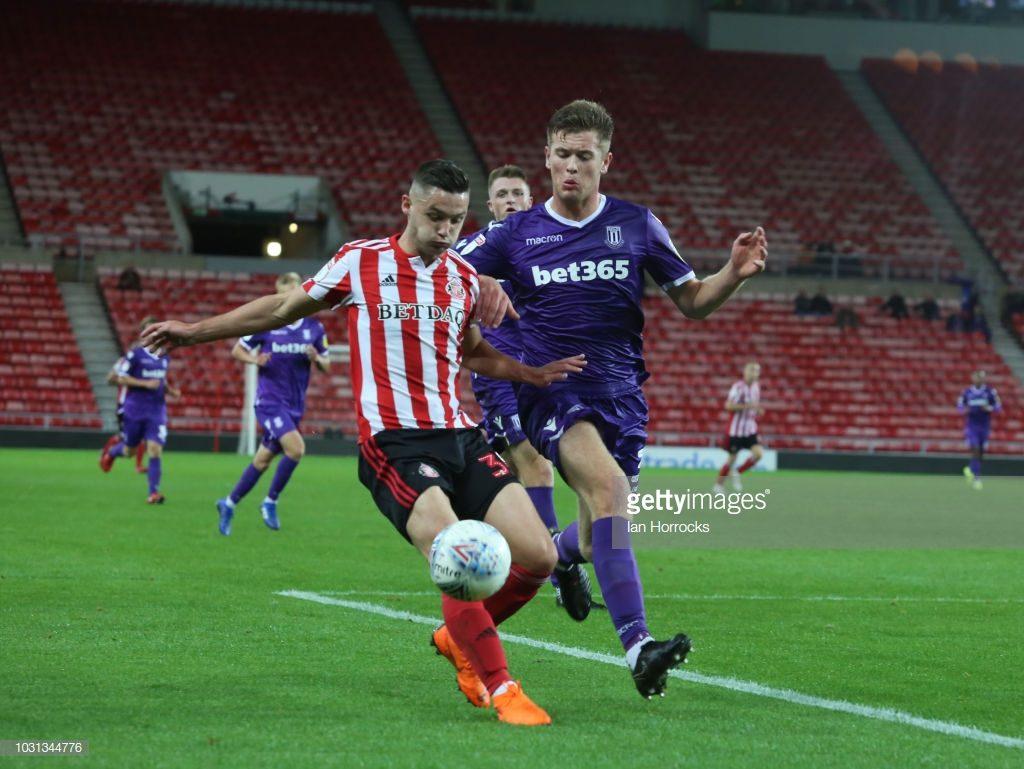 Sunderland v Stoke U21 - Checkatrade Trophy