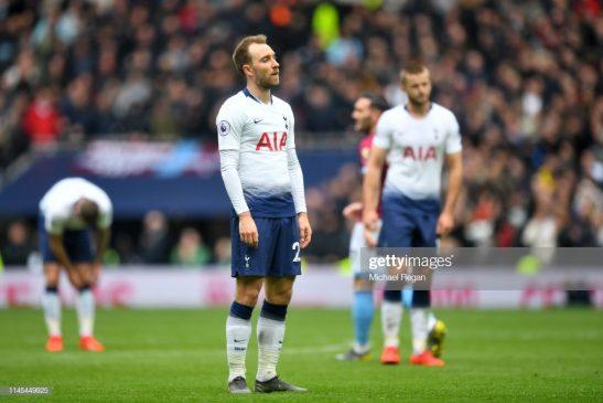 Christian Eriksen of Tottenham Hotspur