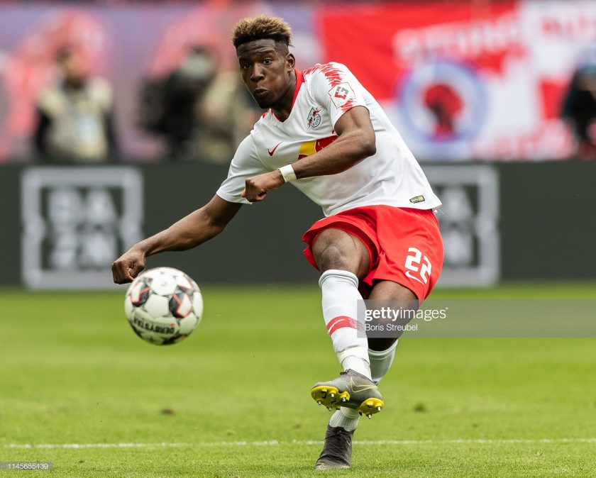Nordi Mukiele of RB Leipzig