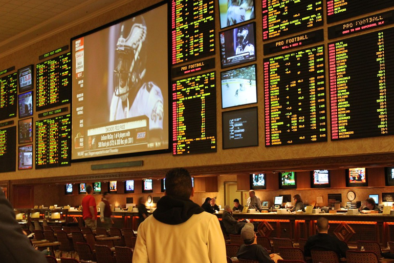 Sports Betting at a Las Vegas Casino